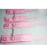 Fantasy 7 Pieces Bondage Gear Kit Set Pink