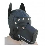 Classic BDSM Toys Dog Slave Muzzle Leather Wholesale