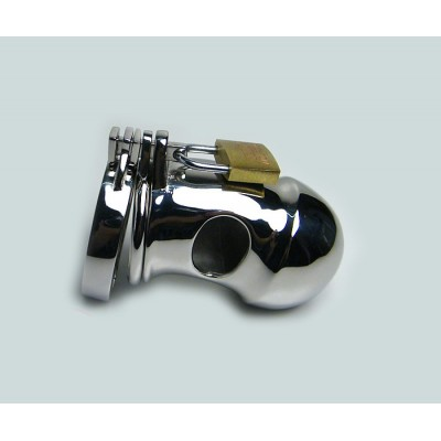 New Design Stainless Steel Male Chastity Device Penis Lock Wholesale