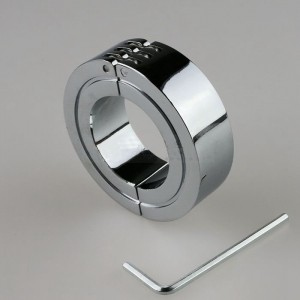 Sexy Metal Penis Ring Male Penis Cock Restraint Gear BDSM Sex Toys for Men