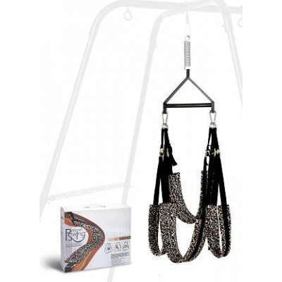 Sex Furniture Classic Leopard Design All Passion Sex Swing Sling