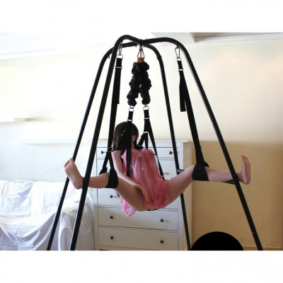 Quality Sex Furniture Sex Swing with Steel Stand Frame Heavy Duty Fantasy