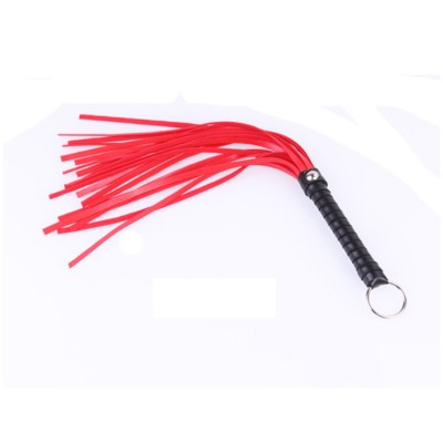 New Design BDSM Whip Faux Leather Black Red Color Fetish Sex Toy Flogger Paddle