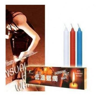 Low Temperature Wax Candle (3 Pcs) 02