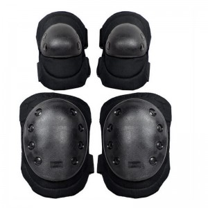Knee Pads Elbow Protection Kit for BDSM Plays Bondage Gear for Long Time Crawling Slave