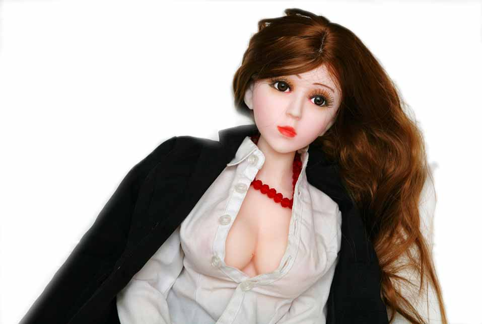 New Design Fully Solid Sex Doll Silicone Love Doll Mini 68cm Height Built In Skeleton Oriental Girl