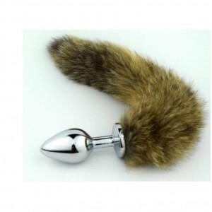 Fox Tail Metal Anal Plug