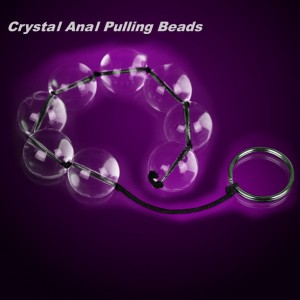 glass anal beads, pyrex anal beads, glass anal sex toy