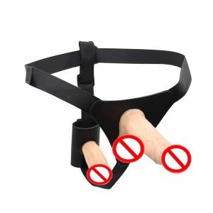 Strap on dildo, strap on harness, dual dildo harness