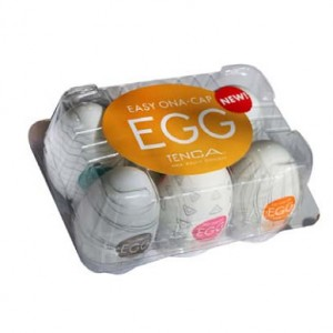 classic masturbation egg for male 6 pcs pack.
