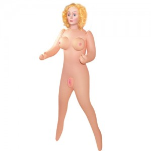 Sex doll with vibration and voice function.