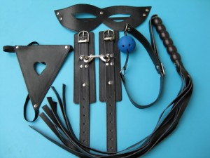5 pcs bondage gear kit low price wholesale.
