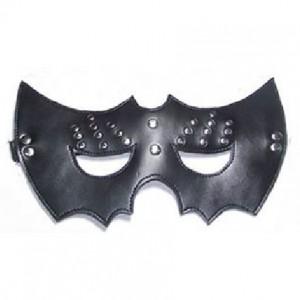 genuine leather bondage gear mask.