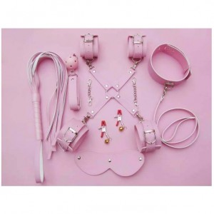 8 pcs bondage gear kit.