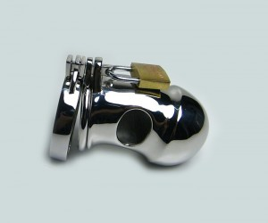 Stainless Steel Male Chastity Device