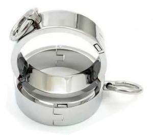 metal wrist cuffs