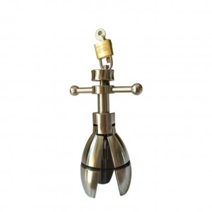 Trillium anal lock, anal lock plug, anal locking bolt