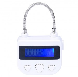 Bondage timing lock, bondage gear timer, BDSM timing lock
