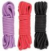 soft cotton bondage ropes.