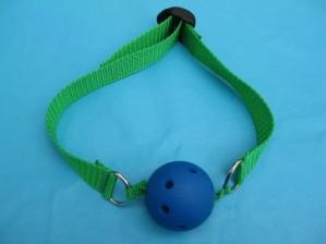 sex play accessory ball gag.