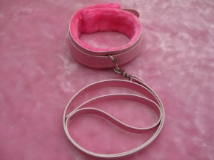 new design plush collar for sexual play.