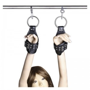 New design suspension cuffs for sexual play.