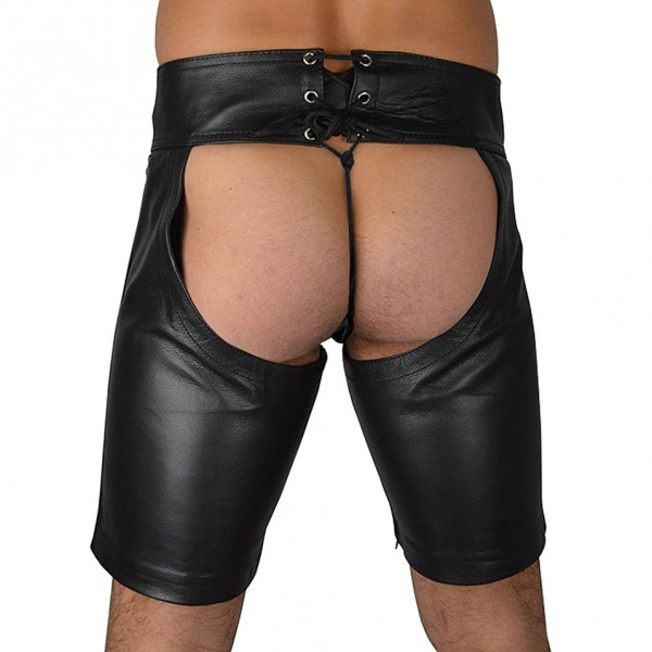 Wild sexy male shorts, sexy leather pants, male sexy costume