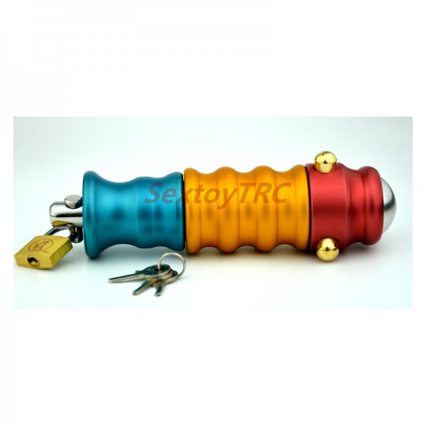 anal chastity device, anal plug lock, anal spreader lock