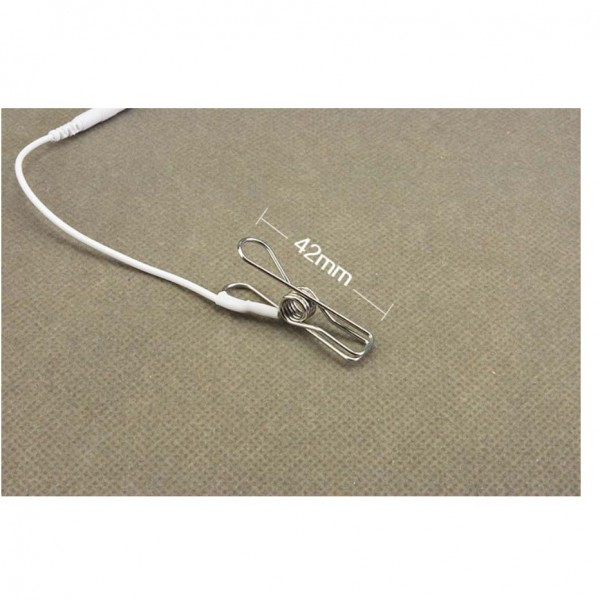 electric nipple clamps, electric clitoris clamps, electric lips clamps