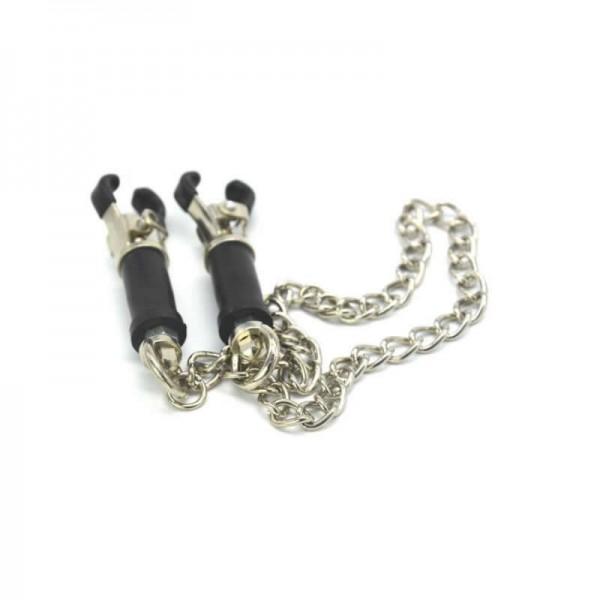 Sex toy nipple clamps, clitoris clip, labia clamps