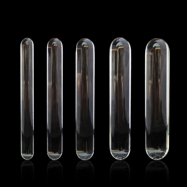 glass dildo masturbator, pyrex dildo sex toy, glass anal spreader