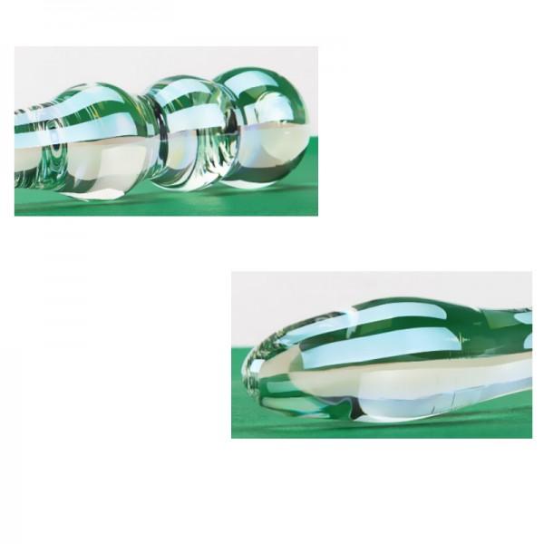 clear glass dildo, glass dildo wholesale, new design glass dildo