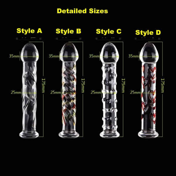 Glass sex toy, new design glass penis, new design glass dildo