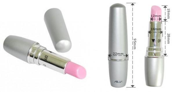 Classic lipstick vibrator sex toy.