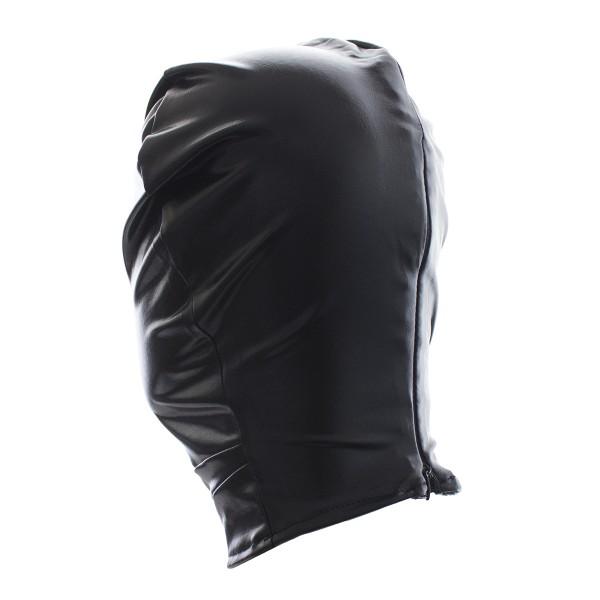 full cover bondage hood for BDSM game.