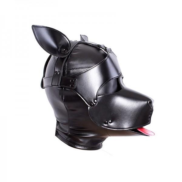 Bondage dog muzzle, bondage puppy mask, bondage dog slave