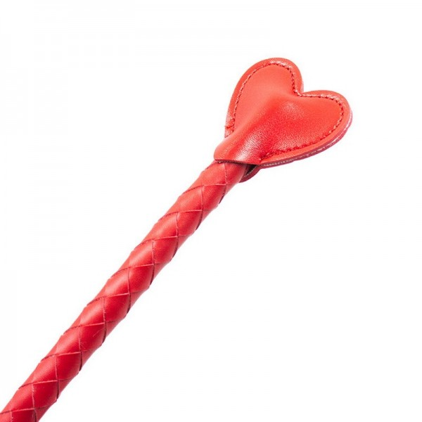Red long whip, black long whip, heart shape whip