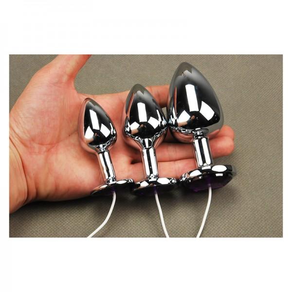 heart shape anus plug, electric heart shape anal plug, electrical heart shape butt plug