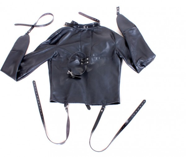 new design bondage suit, body bondage suit, leather bondage suit