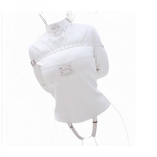 white bondage suit, body bondage bags, body bondage sacks