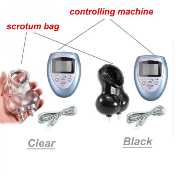Electrical scrotum bag, electro scrotal bag, electrical scrotal bag