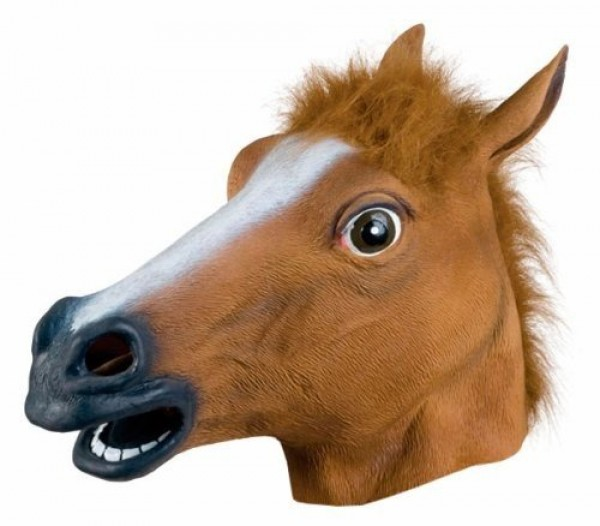 animal sex costume, horse sex mask, horse sex hood
