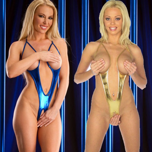 open crotch swimsuit, open breast lingerie, female crotchless lingerie