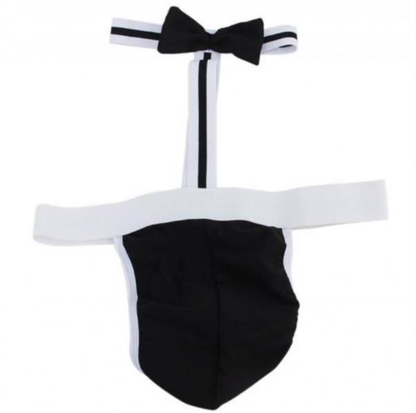male sexy lingerie, sexy waiter costume, male sexy clubwear