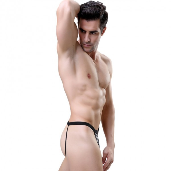 male leopard lingerie, men leopard underwear, male leopard thong